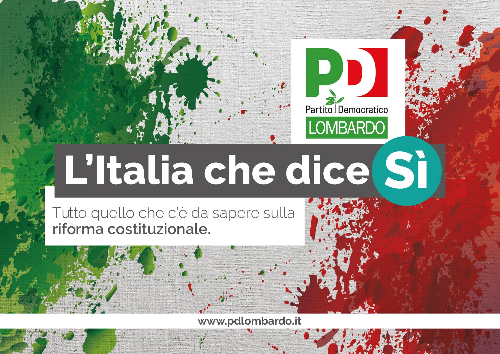 L'Italia che dice sì: la riforma costituzionale