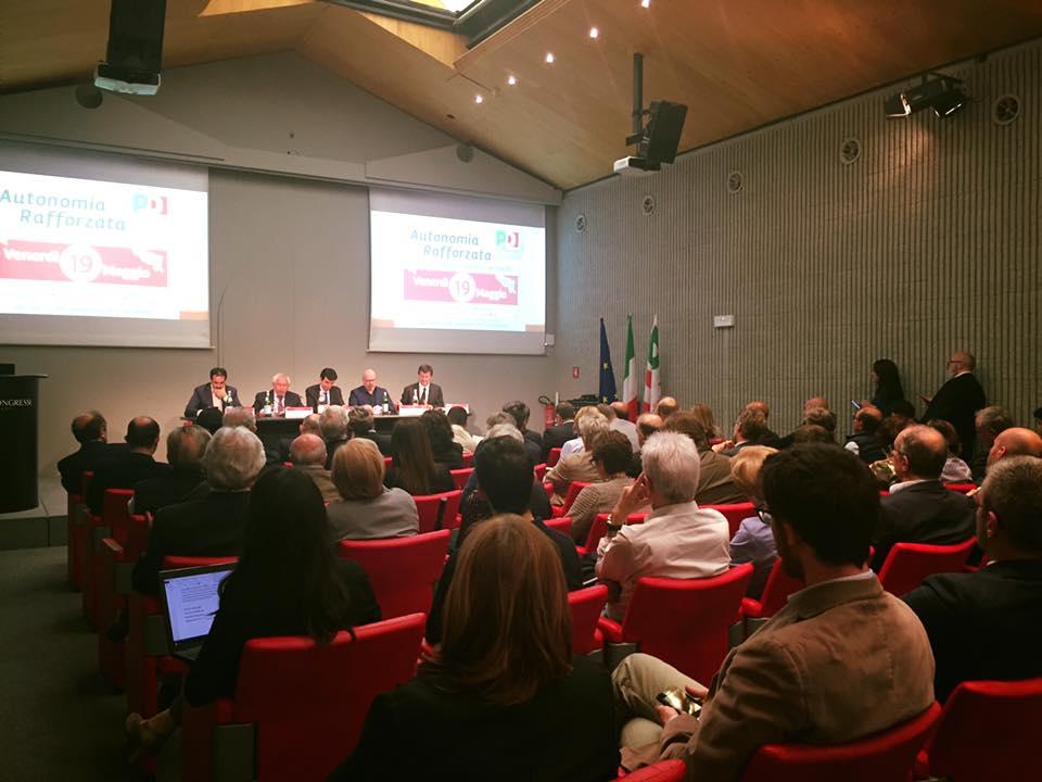 Autonomia, da Bergamo la sfida del PD a Maroni