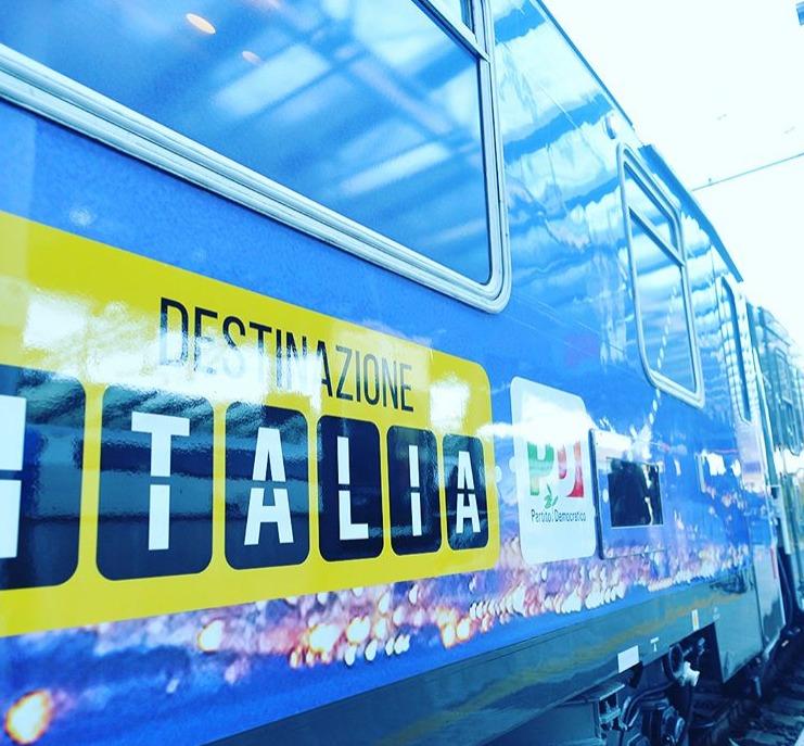 Il treno di Destinazione Italia in Lombardia