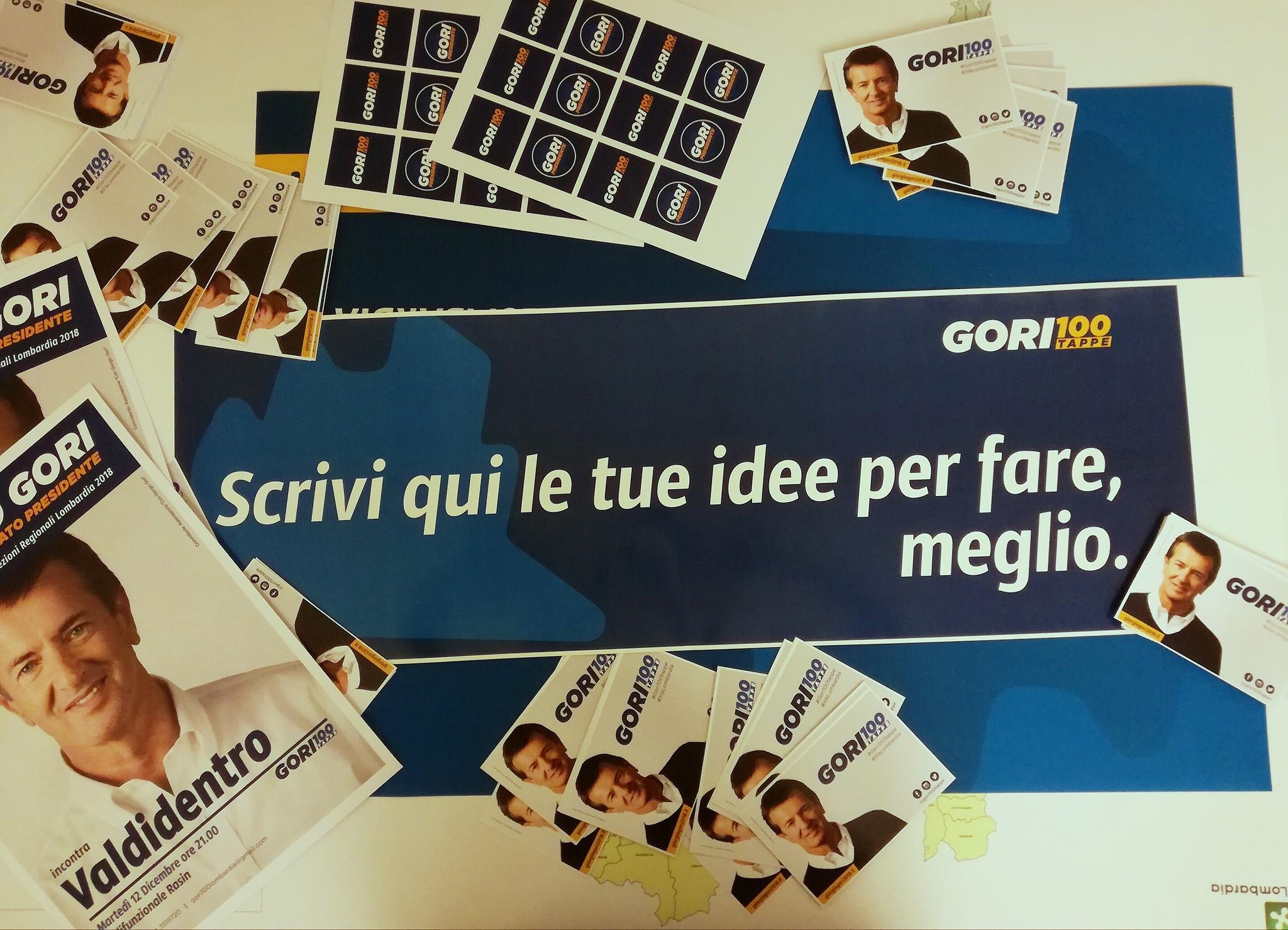 100 tappe in Lombardia. Parte il tour di Giorgio Gori