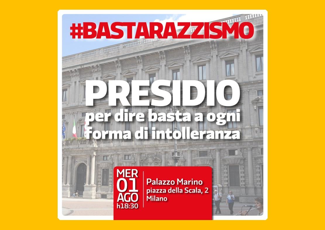 1 agosto: Presidio Antirazzista a Milano, Piazza Scala
