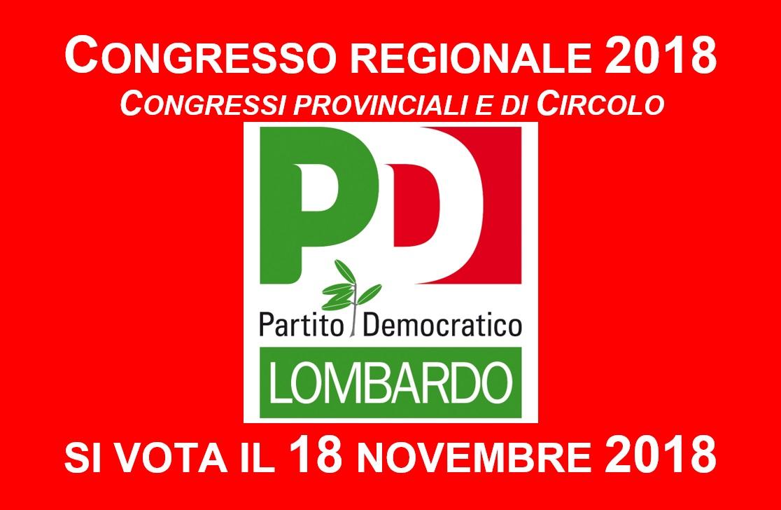 Si apre il Congresso 2018 del PD lombardo