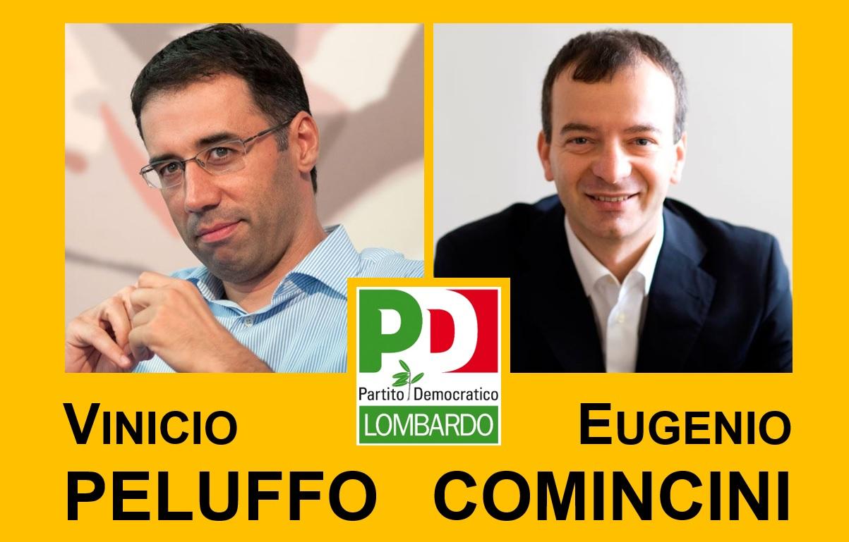 Peluffo e Comincini candidati a Segretario regionale
