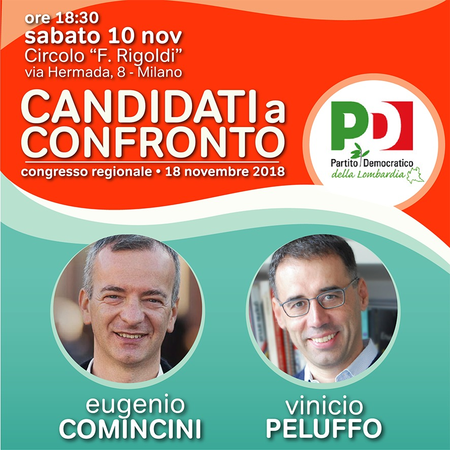 Sabato 10 a Milano il primo confronto tra i candidati