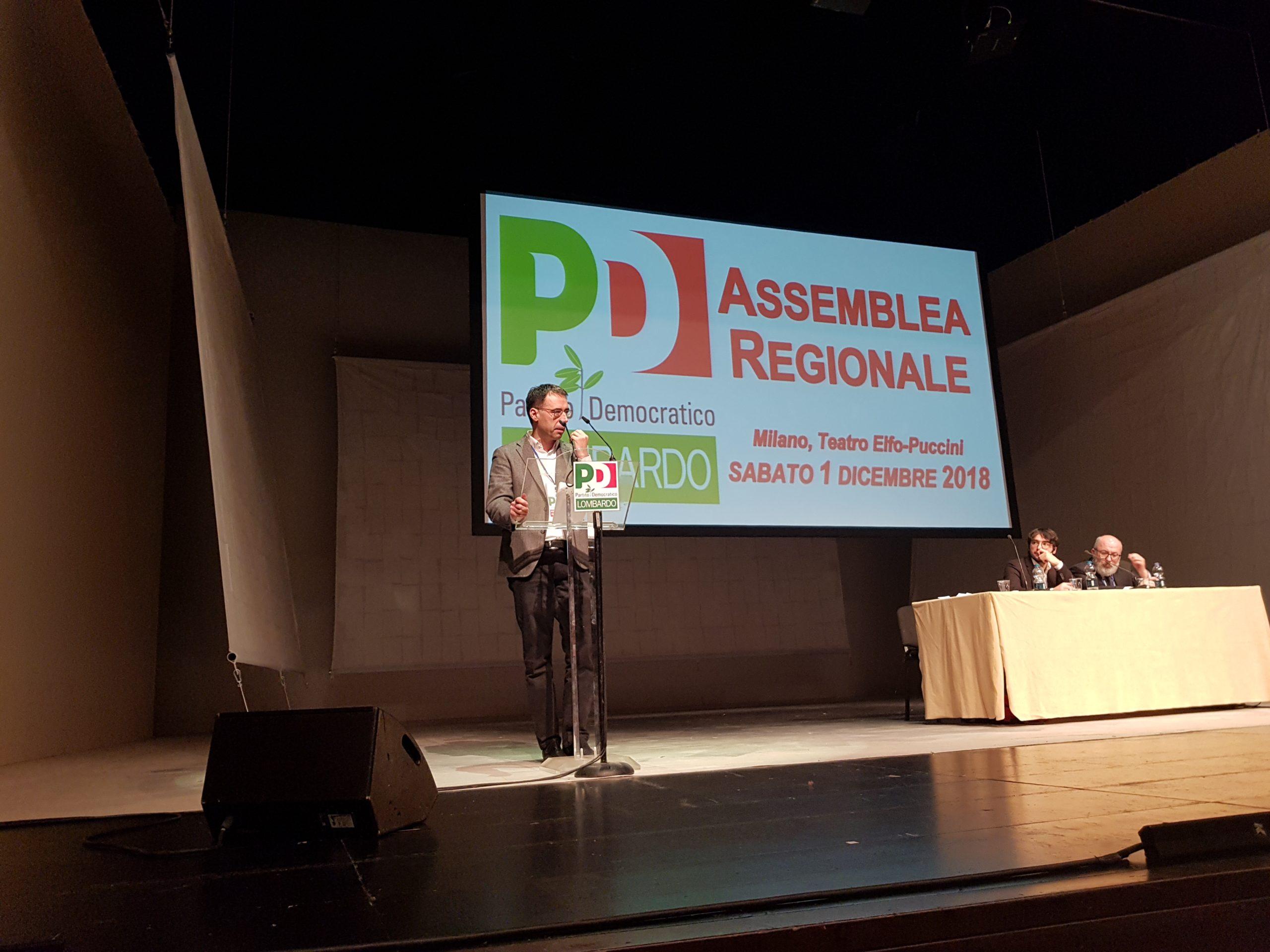 Vinicio Peluffo è Segretario regionale del PD lombardo