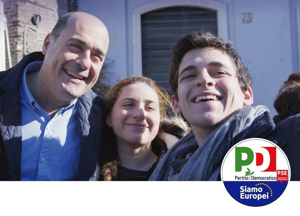Zingaretti in Lombardia il 16 maggio