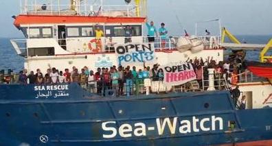 Sea Watch: la raccolta fondi promossa dal PD del Lazio