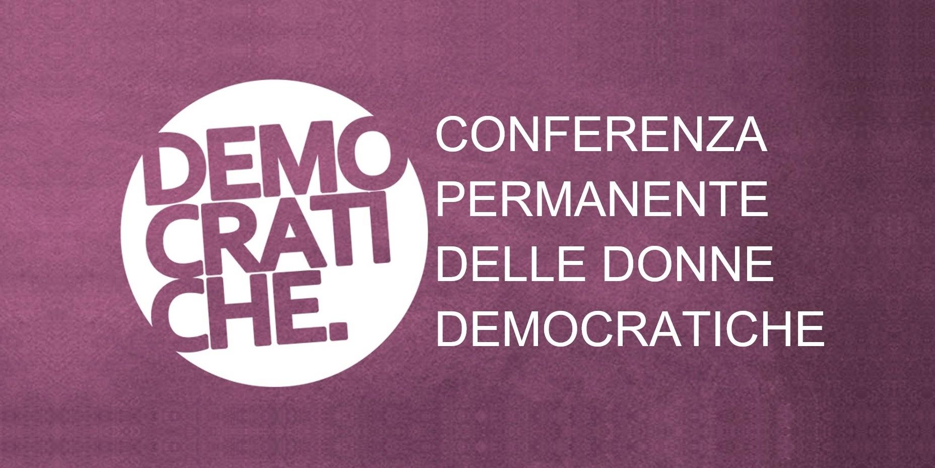 Adesione a Conferenza Donne Democratiche prorogata al 06/10