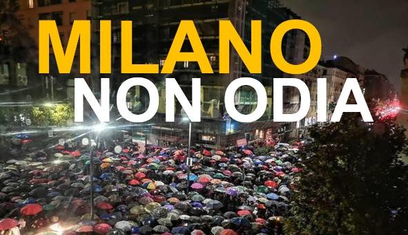 In tantissimi a dirlo: Milano non odia