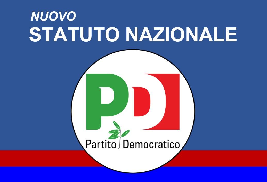 Il testo del nuovo Statuto nazionale del PD
