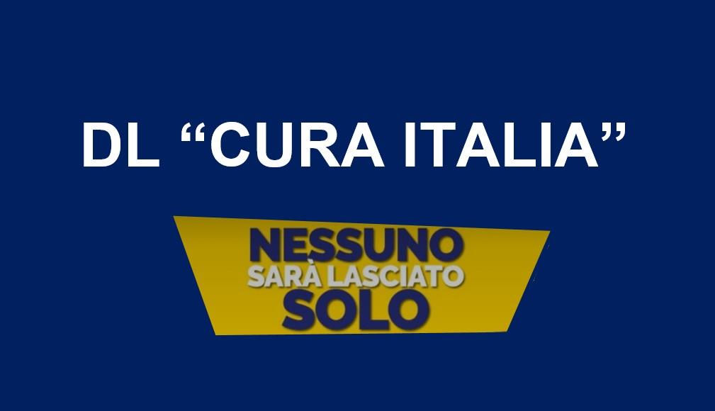 "DL ""Cura Italia"": 25 mld di Euro (agg. 05/04)"