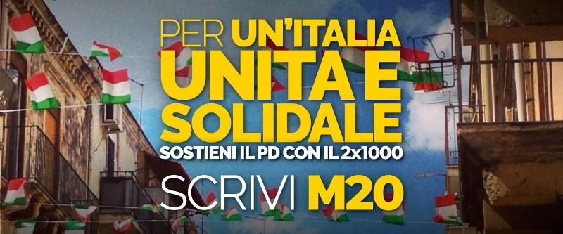Per un'Italia unita e solidale