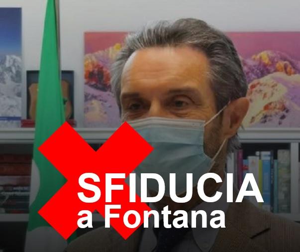 È ora di sfiduciare Fontana